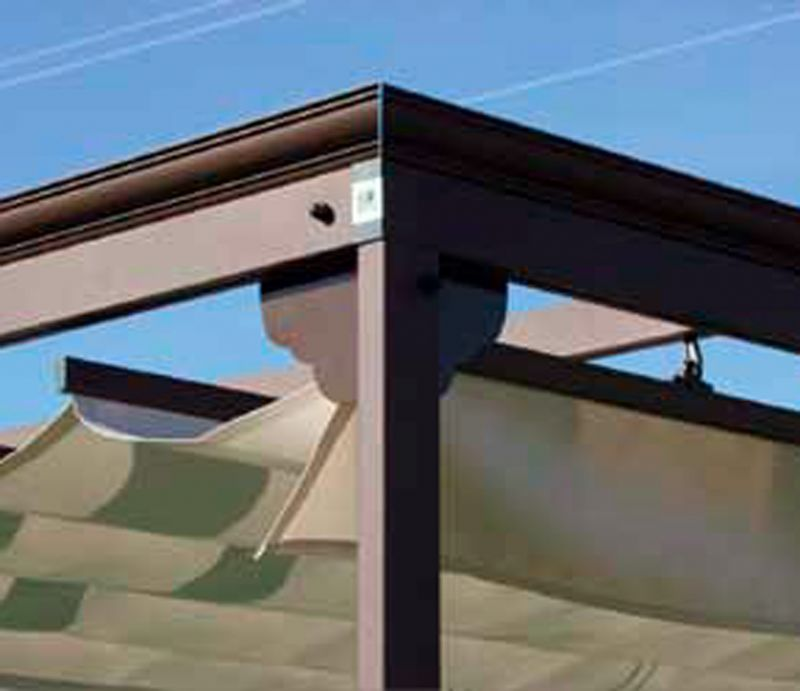 P rgola de aluminio con perfil - Perfil de aluminio precio ...